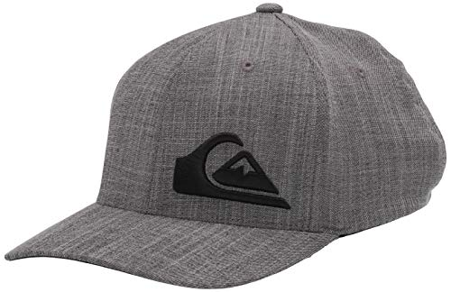 Quiksilver Final Stretch Fit - Gorro de ala curva para hombre -...
