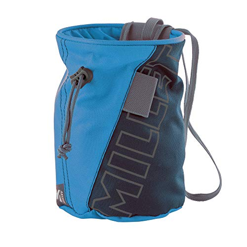 Millet Chalk Bag Bolsa de magnesio para Escalada, Unisex-Adult, Saphir, U
