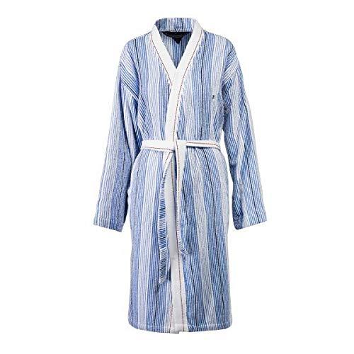 Tommy Hilfiger Kimono wit en blauw gestreept