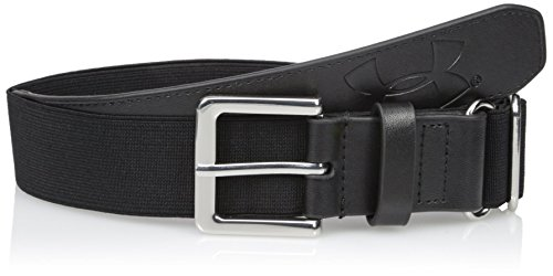 Under Armour Boys' Baseball Belt, Black (001)/Black, One Size Fits All