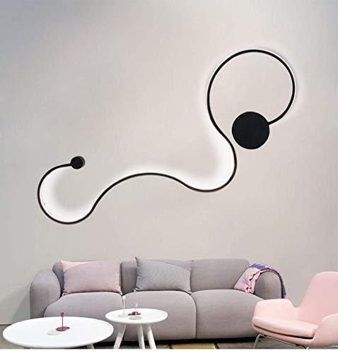 ZGYQGOO Acryl Moderne LED-Lampe Kronleuchter Licht Wandbeleuchtung für Wohnzimmer Schlafzimmer Innenraum Deckenleuchten Lampen