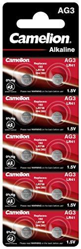 Alkaline Knopfzelle CAMELION AG3/LR41/LR736/392