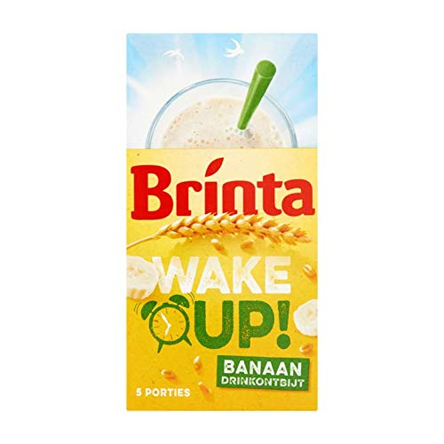 Frühstücksgetränk | Brinta | Aufwachen! Bananendrink Frühstück 5 x 22g | Gesamtgewicht 110 Gramm