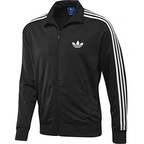 adidas Herren Jacke Originals Trainingsjacke Firebird, Black, S, S23129