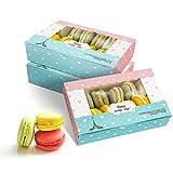 Scatole per torte da 15 confezioni con vetrina, scatole per torte rettangolari per cupcakes, muffin, dolci, robuste scatole da forno per feste di compleanno a casa e picnic (TOWER)