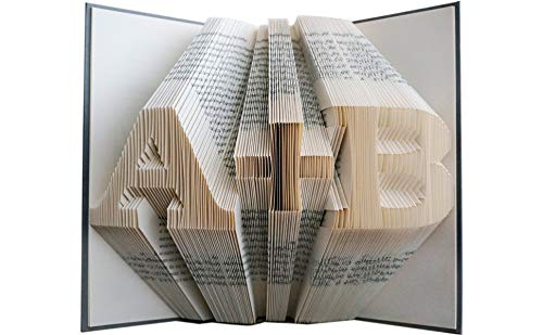 Personalized Folded Book Art
