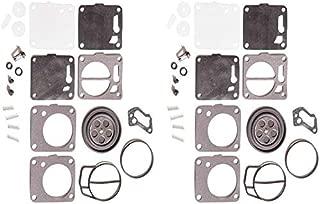 I-Joy 2 Pack Carburator Carb Rebuild Kit for Sea Doo 650 717 720 787 800 SP GS GTX HX XP SPX GTS Challenger 1991-2005 Repair Set