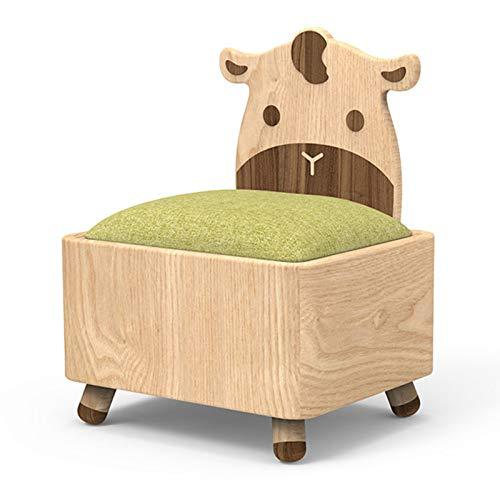 XLSQW Chaise d'enfant à Un Seul Enfant Canapé pour Enfants Tissu de Linge Idéal pour Enfants Chaise de Dossier Mignon, pour Cadeaux de garçons et de Filles,Vert
