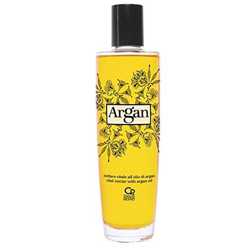 Argan - Nettare Vitale all'Olio di Argan - Trattamento Illuminante, Idratante e Nutriente - Trattamento Professionale - 100 ml