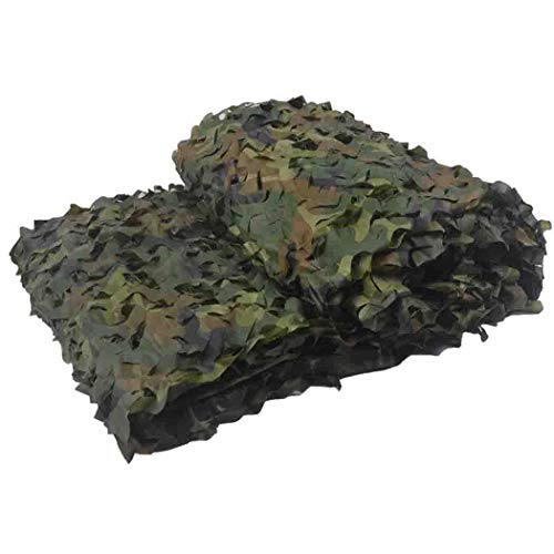 %5 OFF! DPPAN Camouflage Netting Military, Sunscreen Nets Blinds for Woodland Camping Desert Shootin...