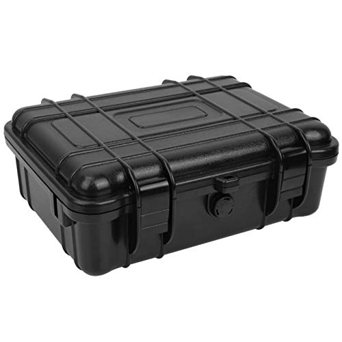 Bediffer Caja de cámara, soporte de cámara de acción resistente al agua, funda de plástico ligero, acolchado de esponja para amantes de la fotografía para viajar