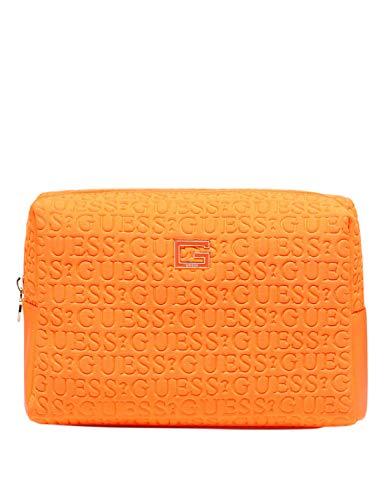 Guess Caris Cosmetic Bag Women's 23Cm Orange