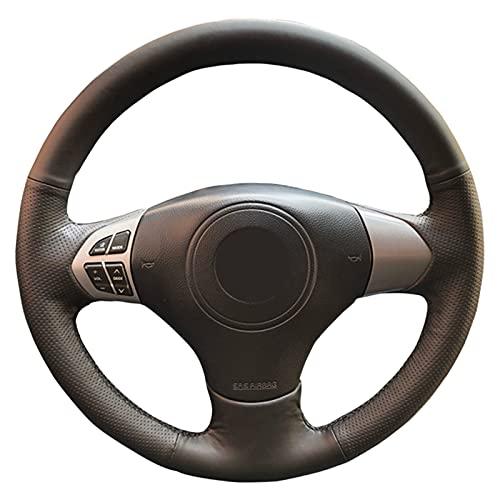 Cubierta del Volante Cosida a Mano, Apta para Suzuki Grand Vitara 2007-2013, Antideslizante, Transpirable