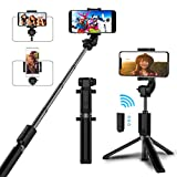 Best Bluetooth Selfie Stick Iphones - Selfie Stick Bluetooth, AYY Extendable Selfie Stick Tripod Review