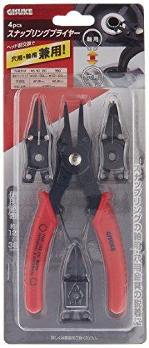 TAKAGI(高儀)『GISUKEスナップリングプライヤー穴用・軸用兼用(4907052212138)』