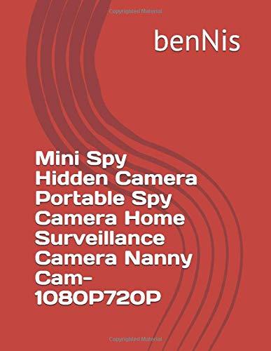 Mini Spy Hidden Camera Portable Spy Camera Home Surveillance Camera Nanny Cam- 1080P720P
