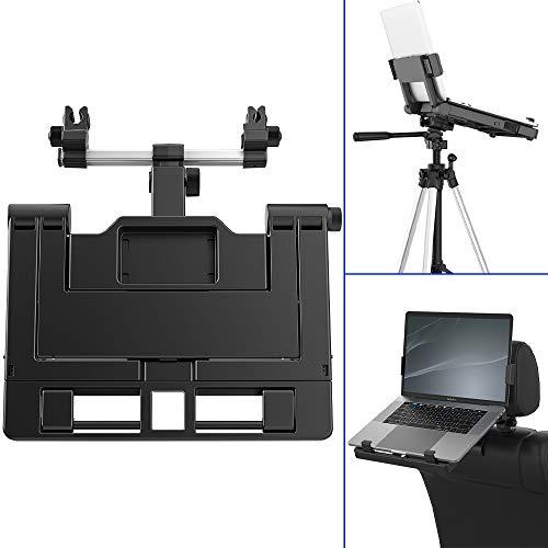 """Car Headrest Mount, Adjustable Car Laptop Tablet Mount Holder 9'-16' Notebook Stand Holder Foldable Laptop Mount Holder for Car Truck Van Compatible with Most 9""""-16"""" Tablets and Laptops, EURPMASK"""