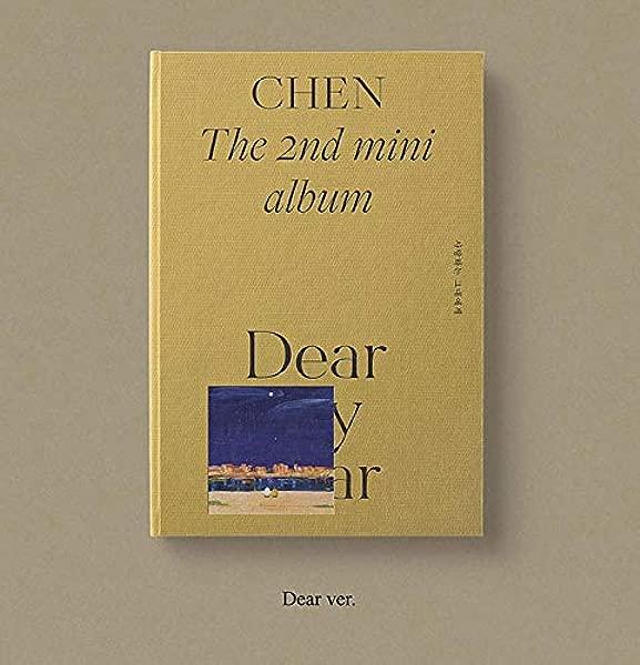 CHEN EXO Dear My Dear Dear Ver CD Photobook Photocard Letter Folded Poster Double Side Extra Photocards Set