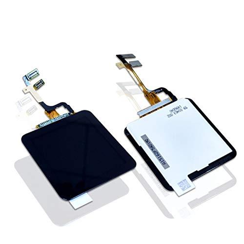 Sintech© Display-Einheit passend für Apple iPod Nano 6G (Frontscheibe, LCD, Touchscreen + Kleber) 6. Generation in der Farbe schwarz - Einfacher Austausch des Displays ganz ohne zu löten - Geprüfte Qualität