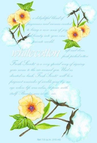 White Cotton Duftsachet weiße Baumwolle groß von Willowbrook