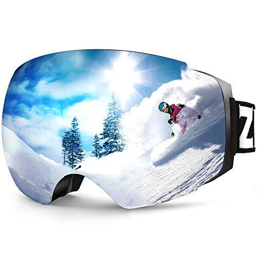 ZIONOR X4 Ski Snowboard Snow Goggles Magnet Dual...