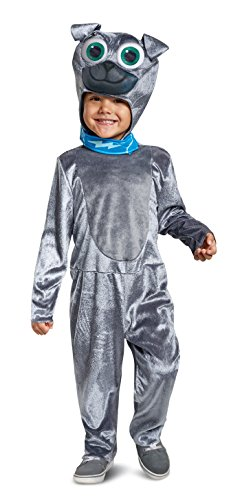 Disguise Disney Junior Bingo Puppy Dog Pals Toddler Boys' Costume Gray, Large/(4-6)