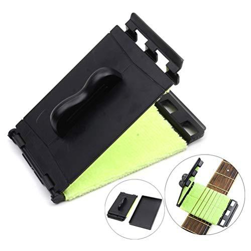 OUTEYE E-Gitarren-Bass-Saiten Scrubber Reinigungswerkzeug Finger Rub Wartung Pflege Bass-Reiniger