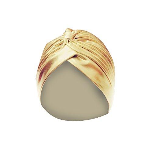 TININNA Unisex Prince Denmark Bonnet Chapeau De Douche Bain Tissu Protection Soin Accessoire Cheveux Or