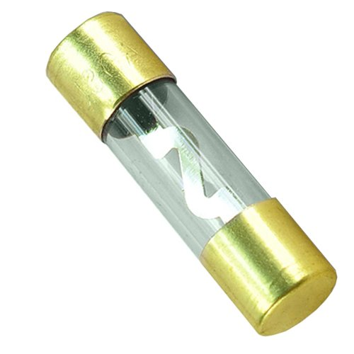 New 10PCS 100AMP 100A Car AGU Glass Fuse Gold Plated For Car Audio Gauge