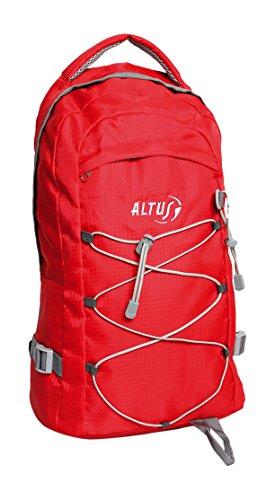 Altus City 20 - Mochila, color rojo, 20 l