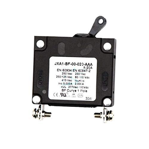 JF-XUAN Disyuntor for vehículos, Interruptor de Circuito de reemplazo for Autos