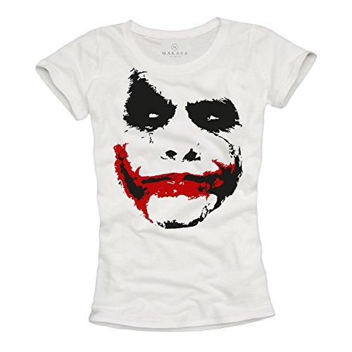 Camiseta Joker Mujer - Batman Negra S
