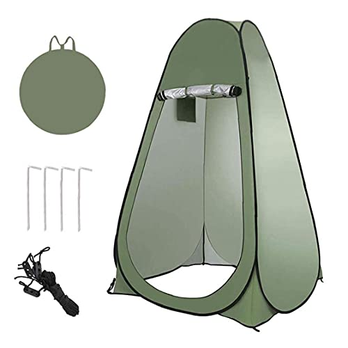 Pop Up Camping Douche Tente, Abri Chambre Portable Camping Toilette Tente pour Ext¨¦Rieur Changement Vinaigrette De Stockage Tentes Chambre