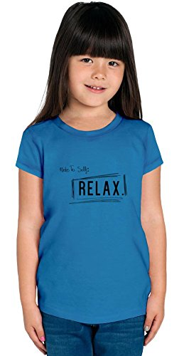 Note To Self Relax Girls T-shirt 2/3 yrs