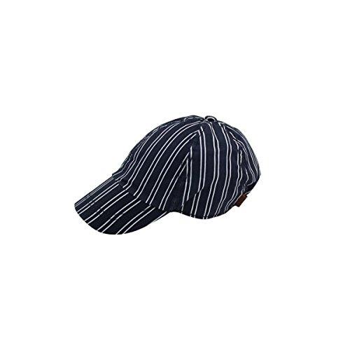 Boboli Jungen Baseballcap blau-weiß gestreift Gr. 46 (XS)