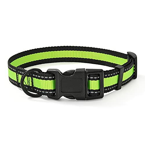 Mile High Life Dog Collar | Reflective 3M Stripe...