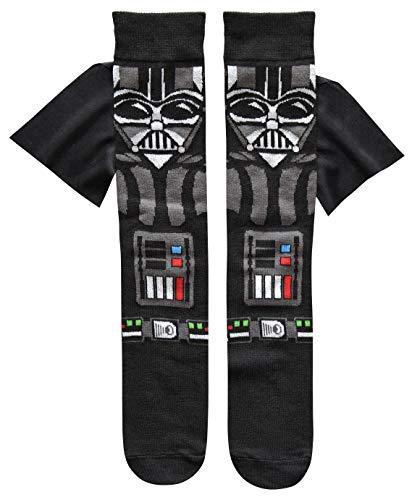 Star Wars Darth Vader Caped Men's Crew Socks Shoe Size 6-12