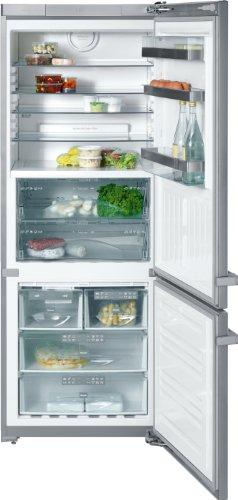 Miele KFN 14947 SDE ED/CS Kühl-Gefrier-Kombination / A+ / Kühlen: 300 L / Gefrieren: 112 L / Edelstahl/CLST / PerfectFresh - bis zu 3mal länger frisch / IceMaker