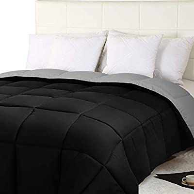 Utopia Bedding Lightweight 4.5 Tog Duvet with Corner Tabs - Microfiber Soft Summer Duvet - Box Stitched Down Alternative Quilt
