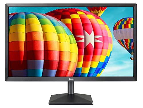 LG 24MK430H Monitor 24' FULL HD LED IPS, 1920x1080, 5ms, AMD FreeSync 75Hz, Multitasking, VGA, HDMI, Flicker Safe, Nero