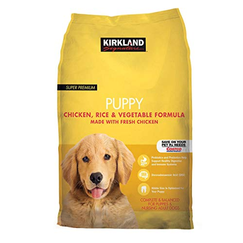Kirkland Signature Expect More Puppy Formula Chicken, Rice and Vegetable Dog Food 20 lb.