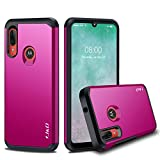 J&D Case Compatible for Motorola E6 Plus Case, Heavy Duty