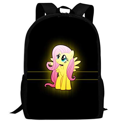JDFGG-89 Mochila diaria de caballo para adultos Bolsa de escuela para adolescentes y niños Bookbag mochila de viaje