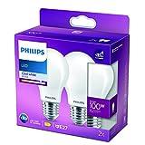 Philips Lighting Lampadina LED Goccia, Equivalente a 100W,...