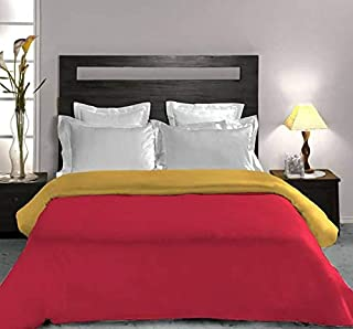 Bombay Dyeing Microfibre 350TC Quilt (Single_Red)