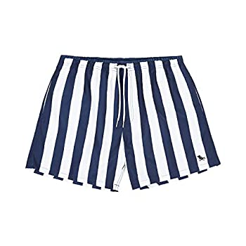 Dock & Bay Quick Dry Mens Swim Trunks - Whitsunday Blue Large  35-37  - Swim Beach Pool Travel - 100% Recycled Material