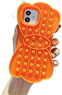 Compatible with iPhone X XS Case, Interesting Push-Type Case Bubble Toy, Can Relieve Anxiety and Autism, Stress Relief Too...