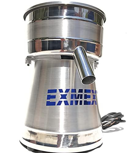 Potente exprimidor extractor industrial para jugos exmex