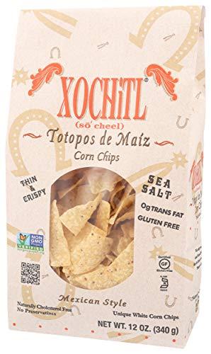 Xochitl Corn Chips, Salted, 12 oz