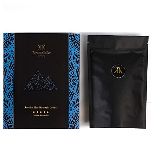 KARAMAN KAFFEE - Jamaica Blue Mountain Premium Kaffee - 100 % Arabica Handverlesene Fair gehandelte Ganze Bohne Röstkaffee